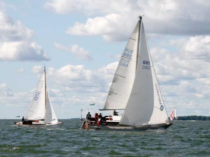 Suomenlahden pohjukassa purjehditaan vaikka maailmalla jännitteet ovat lisääntyneet