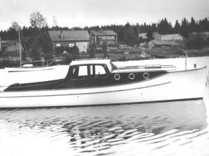 Moottorivene Ahdin kunnostustyö Osa 4. – Ahdin historia alkaa 1930-luvulta