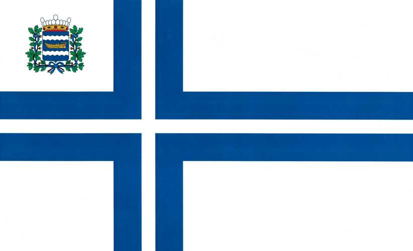 NJK:n lippu vuodesta 1919.