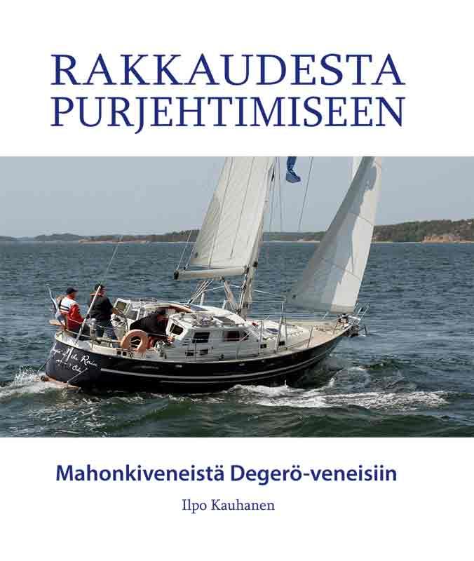 Ilpo Kauhasen uusin kirja on hänen lapsenlapsensa Annina Palosuon taittama.