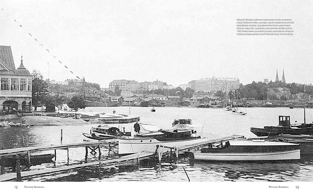 Puuveneet odottavat vesille ja matkalle lähtöä Suortin veistämöllä.
