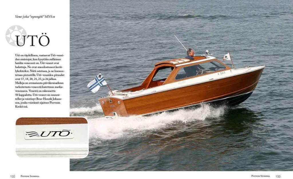 Suomalaisia moottori- ja purjeveneitä on kehitetty niin, että vaikutteita on saatu sieltä ja täältä.