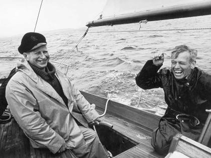 Veneenveistäjä Risto Kristeri ja Eino Antinoja