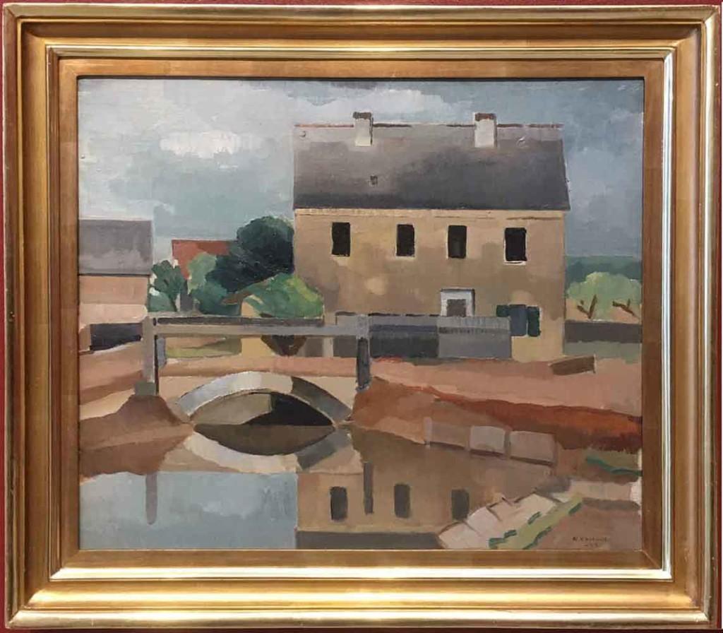 Ragnar Ekelund: Siltanäköala, 1922. Kuva: Kansallisgalleria / Janne Mäkinen. Kansallisgalleria / Ateneumin taidemuseo.