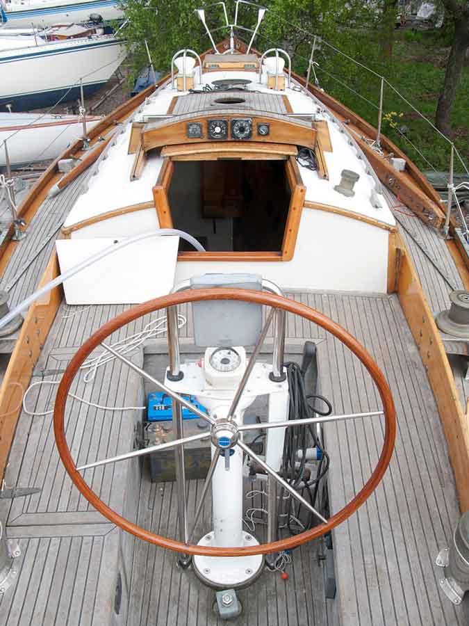 Huh-Mari rakennettiin Eino Antinojalle itselleen kilpaveneeksi, jolla hän pärjäsi hienosti.