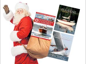 MAINOS: Jouluksi Suomenlinnasta veneilykirjoja edullisesti