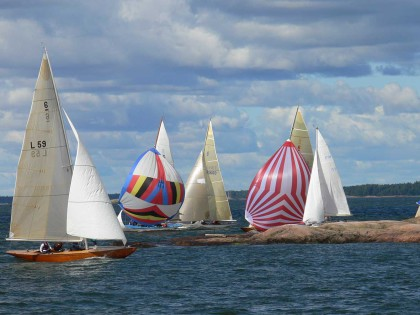 Helsingin klassisten veneiden kisat lähestyvät